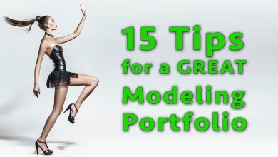 Photo of 15 Tips for a GREAT Modeling Portfolio
