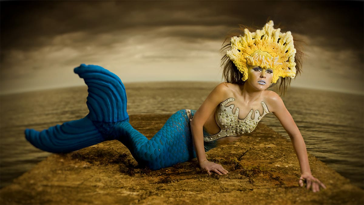 Photo of Body Painting – The Mermaid Model Project
