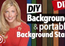 DIY portable background title