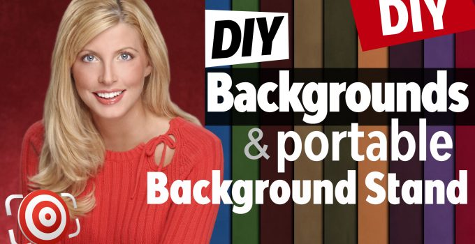 DIY portable background title