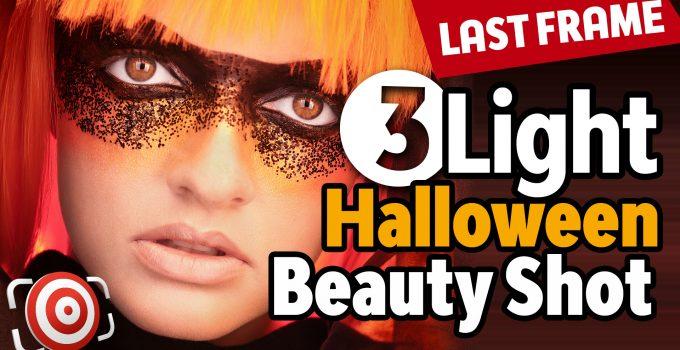 Halloween Beauty portrait tutorial title image