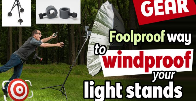 Windproof Light stand with StandDaddy title image