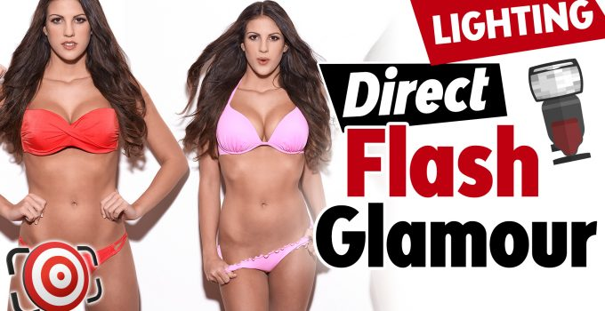 Direct flash glamour title image