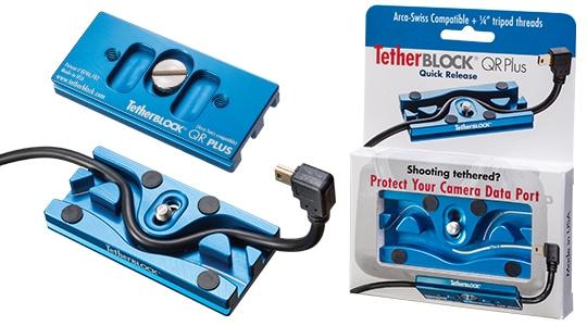 TetherBLOCK QR Plus packaging