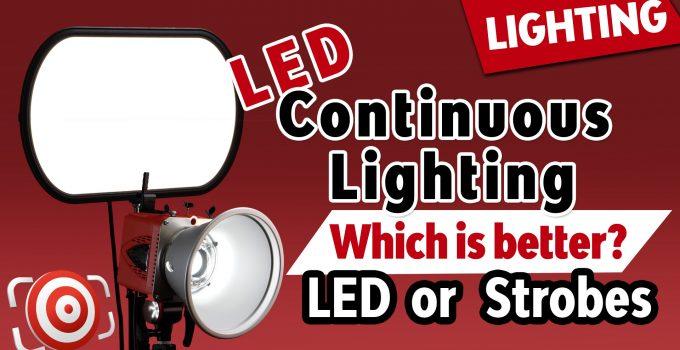 LED vs Strobes title image