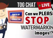 Watermarking title image