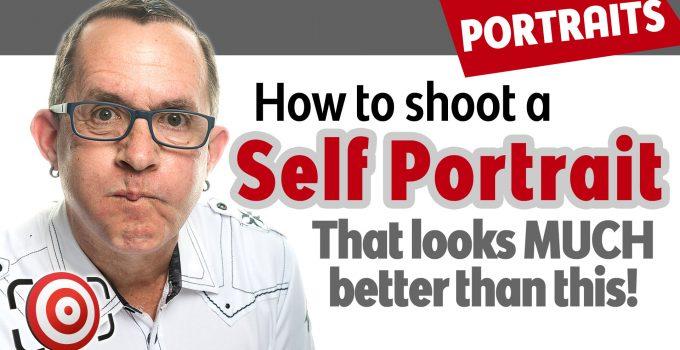 Self portrait title image