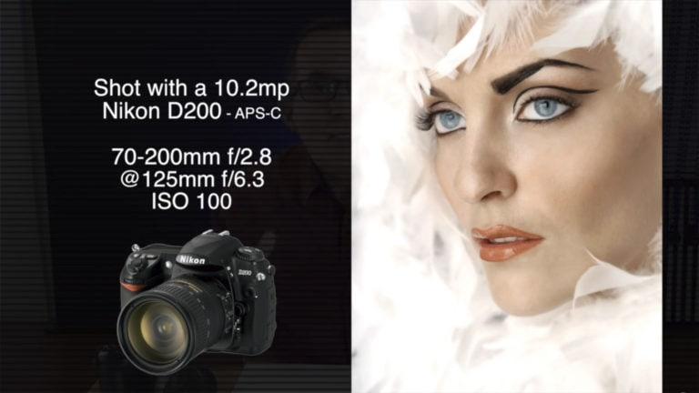 Shot with a Nikon D200