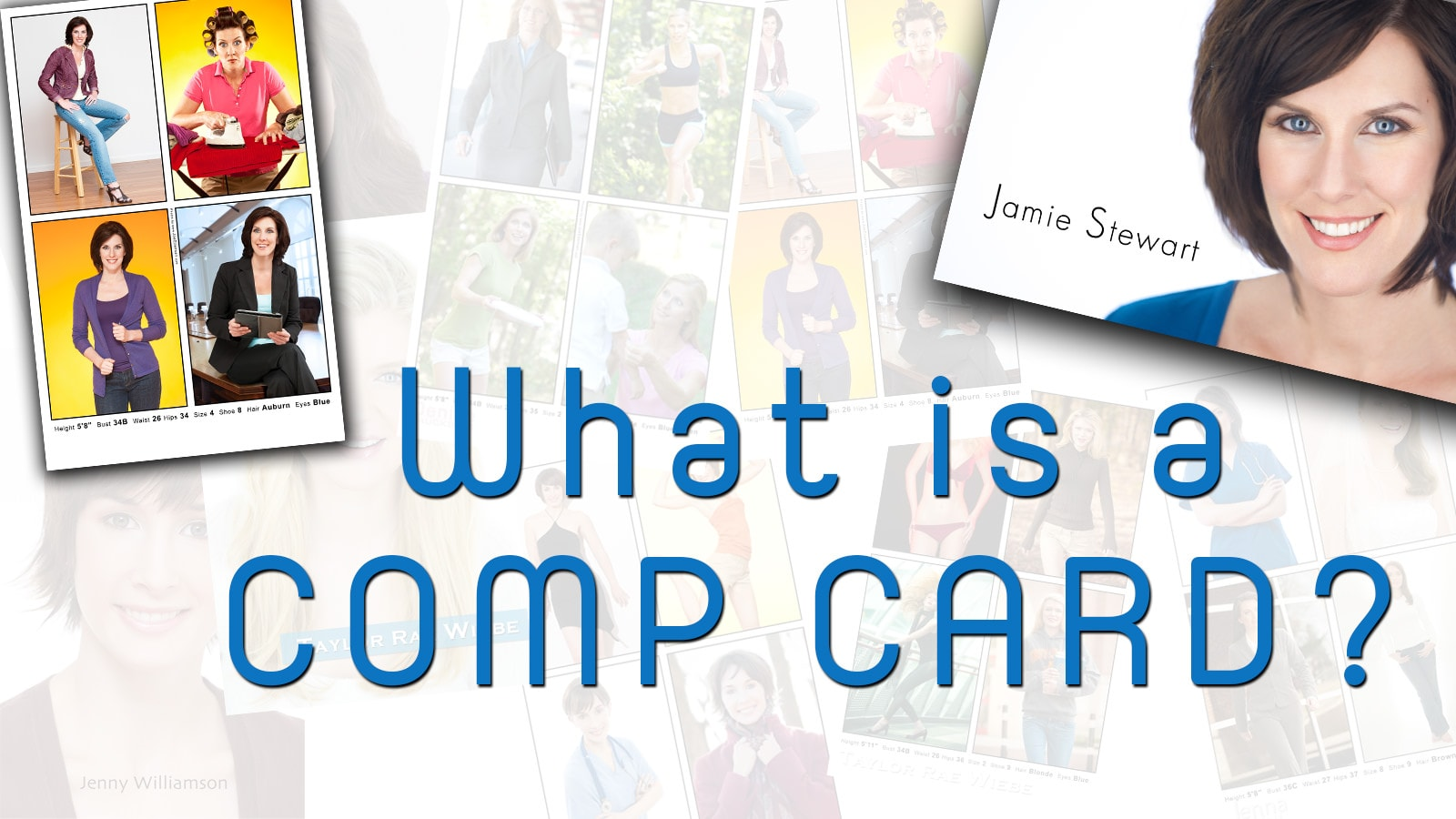 Photo of What is a comp card?