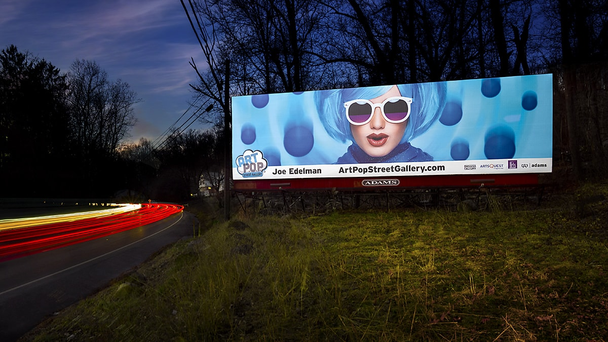 Photo of How my photo became a 48' wide billboard – ArtPop Street Gallery