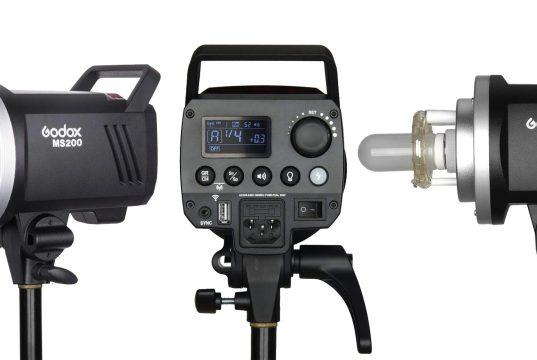Godox MS200 & MS300 Compact Studio Strobes