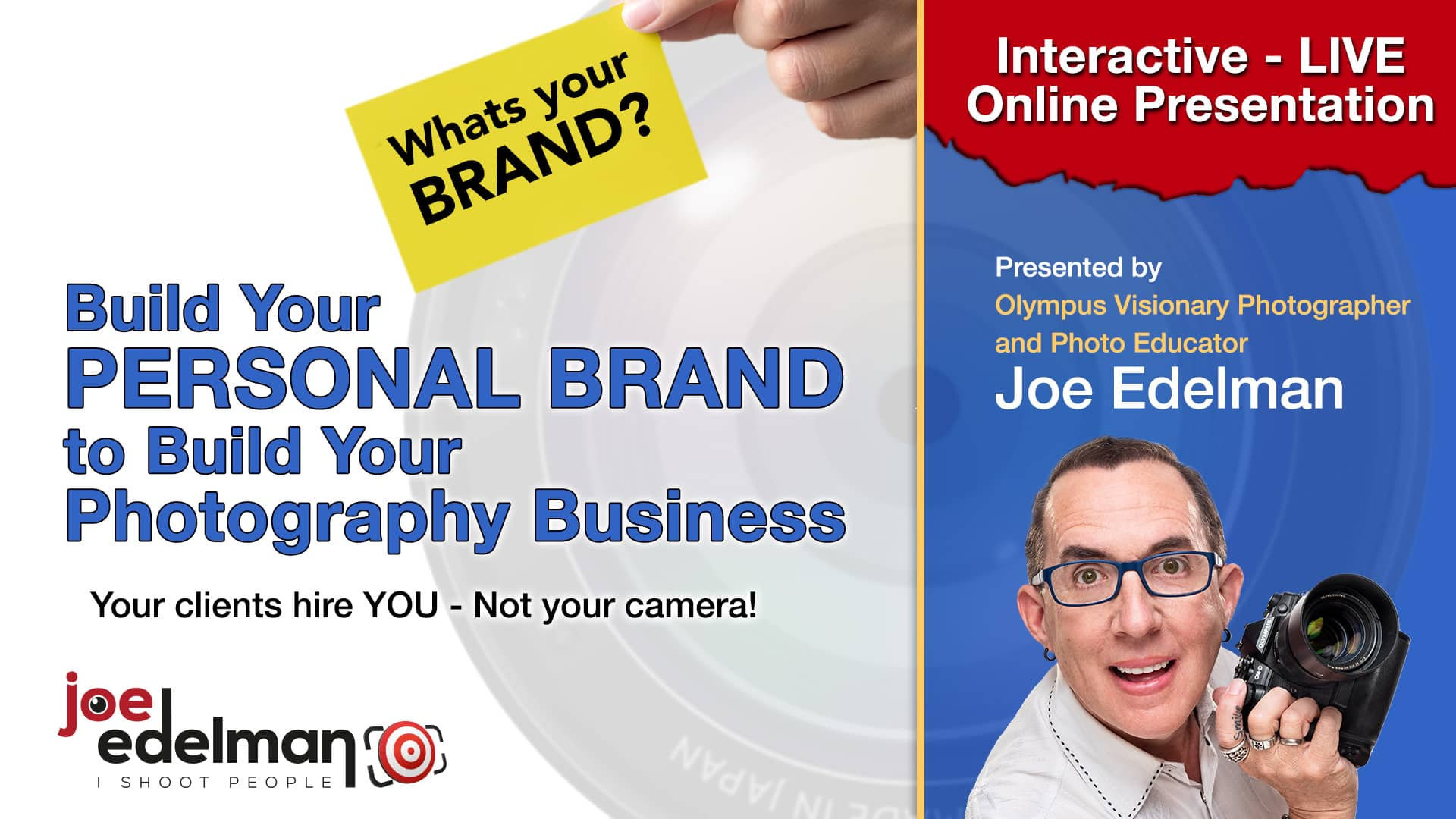 Build Your Personal Brand to Build Your Photography Business