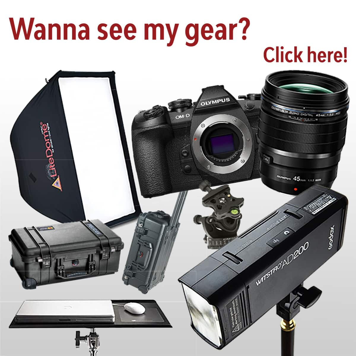 Check out my gear