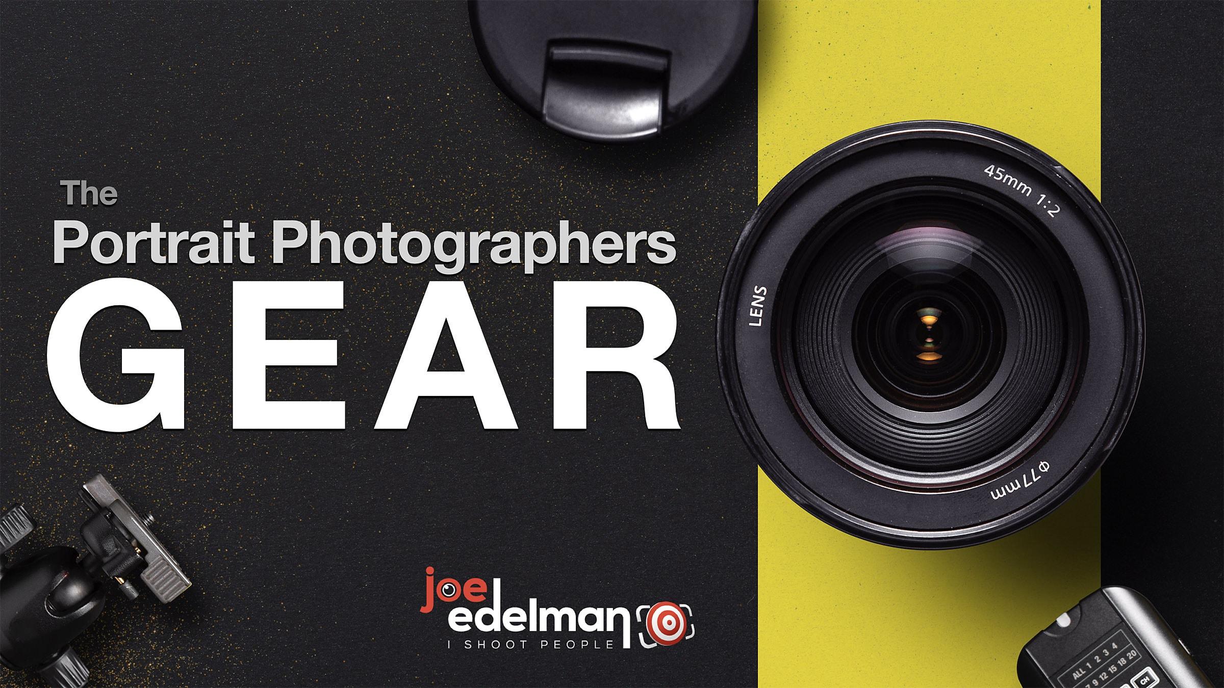 The Portrait Photographers Gear