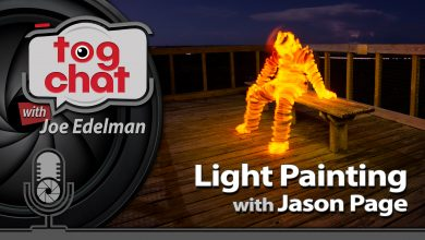 Jason Page - Light Painter