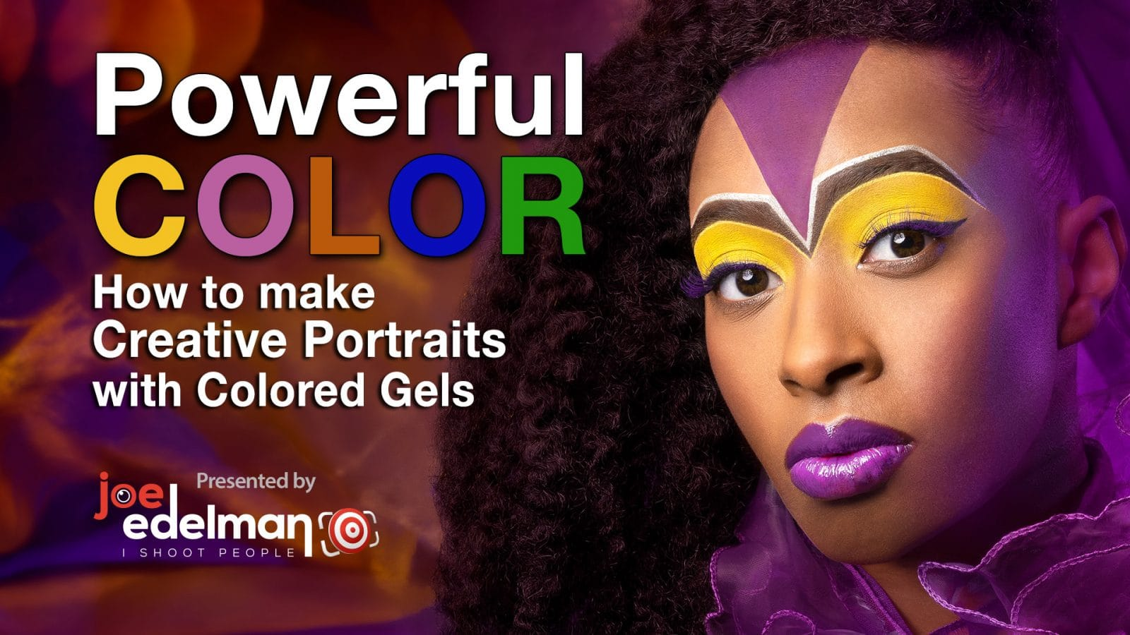 Powerful Color – Creative Portrait Lighting Using Colored Gels