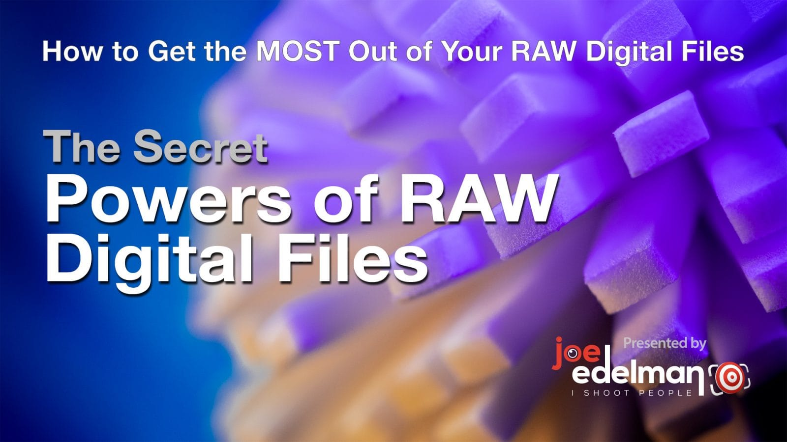 The Secret Powers of RAW Files