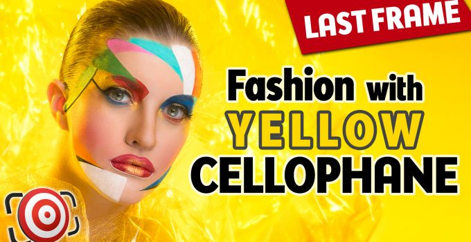 Fashion with Yellow Cellophane