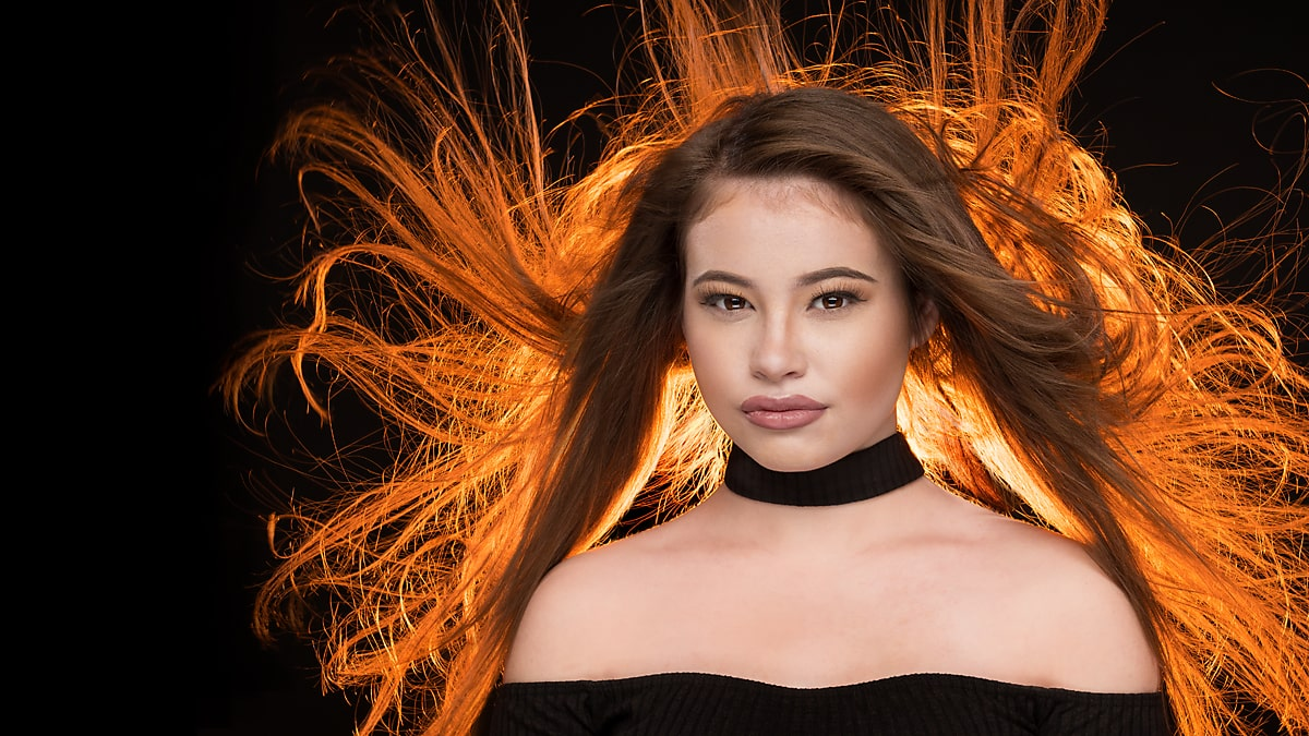 Photo of Blowing Hair for Glamour Portraits &  Best Fans For Your Photo Studio